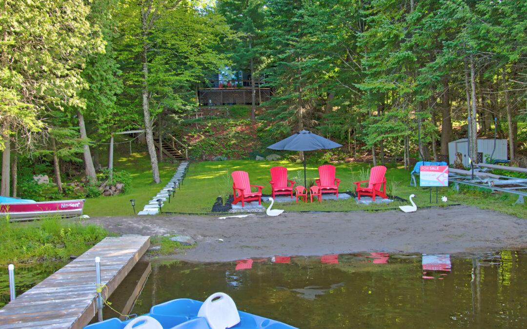 Three Mile Lake Cottage – SOLD