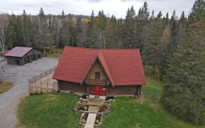 Log Home on 40 Acres – SOLD